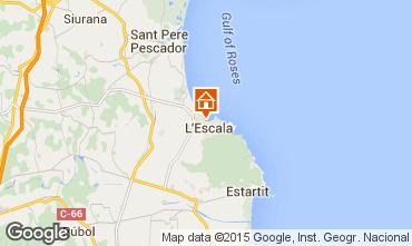 Mapa L'escala Apartamentos 69521