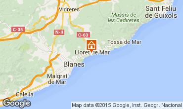 Mapa Tossa de Mar Apartamentos 78261