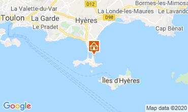 Mapa Hyères Estúdio 5810