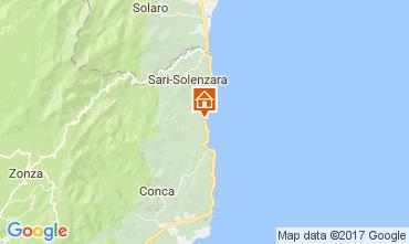 Mapa Solenzara Vivenda 112517