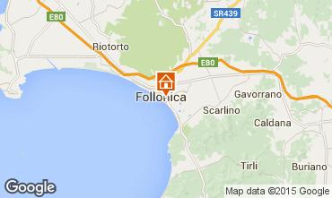 Mapa Follonica Apartamentos 75628