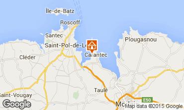 Mapa Carantec Casa 21362