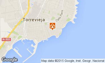 Mapa Torrevieja Apartamentos 91020