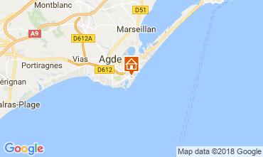Mapa Cap d'Agde Apartamentos 112271