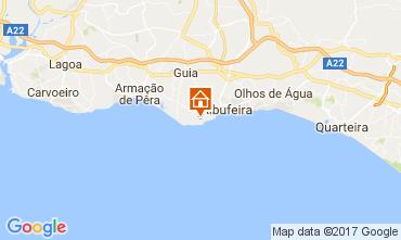 Mapa Albufeira Apartamentos 109918