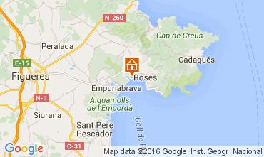 Mapa Rosas Apartamentos 103491