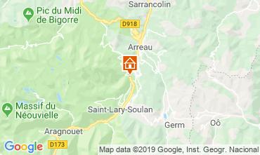 Mapa Saint Lary Soulan Casa 117672