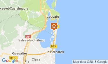 Mapa Port Leucate Vivenda 115630