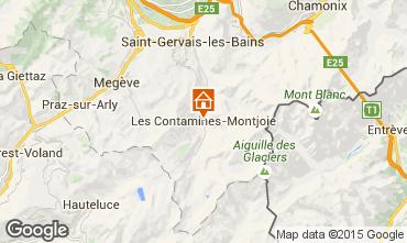 Mapa Les Contamines Montjoie Apartamentos 17080