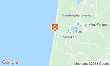 Mapa Mimizan Apartamentos 116207