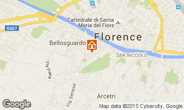 Mapa Floren�a Apartamentos 62499