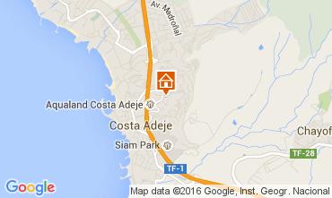 Mapa Adeje Apartamentos 105296