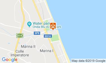 Mapa Giulianova Apartamentos 71115