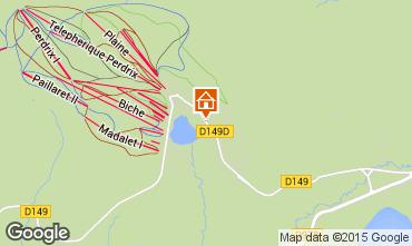 Mapa Besse - Super Besse Chalé 3792