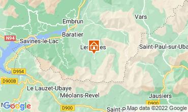 Mapa Les Orres Chalé 65856