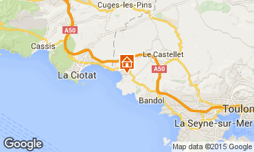 Mapa Saint Cyr sur Mer Apartamentos 78331