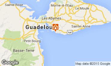 Mapa Gosier (Guadeloupe) Est�dio 8007
