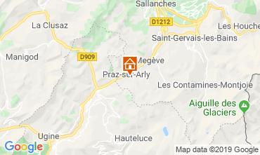 Mapa Praz sur Arly Mobil Home 91335