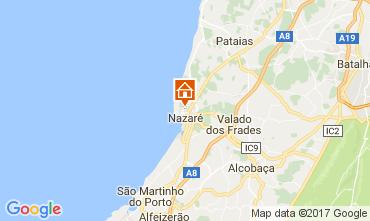 Mapa Nazaré Apartamentos 108376