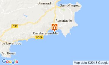 Mapa Saint Tropez Apartamentos 104632