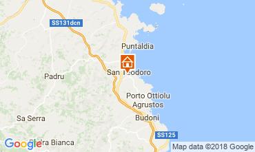 Mapa San Teodoro Vivenda 114676