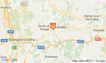 Mapa Sever do Vouga Vivenda 90377