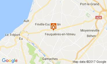 Mapa Saint Valéry sur Somme Casa de turismo rural/Casa de campo 105839