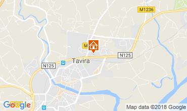 Mapa Tavira Apartamentos 114314