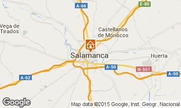 Mapa Salamanca Apartamentos 99823