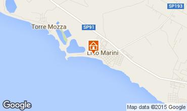 Mapa Lido Marini Apartamentos 35867