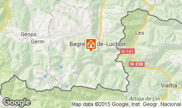 Mapa Luchon Superbagneres Apartamentos 26985