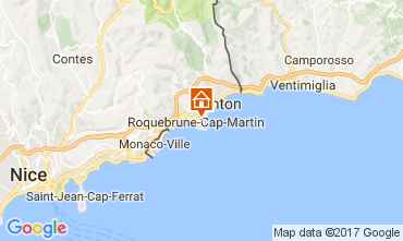 Mapa Roquebrune Cap Martin Apartamentos 110242