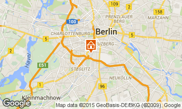 Mapa Berlim Apartamentos 81253