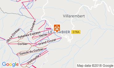 Mapa Le Corbier Apartamentos 117022