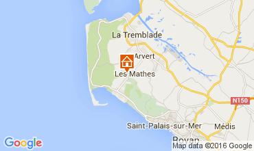 Mapa La Palmyre Mobil Home 99916