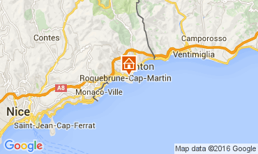 Mapa Roquebrune Cap Martin Apartamentos 104967