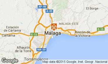 Mapa M�laga Apartamentos 64597