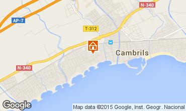 Mapa Cambrils Apartamentos 71602