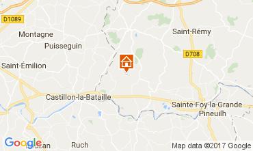 Mapa Bergerac Casa de turismo rural/Casa de campo 111984