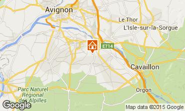 Mapa Saint Rémy de Provence Casa 84879
