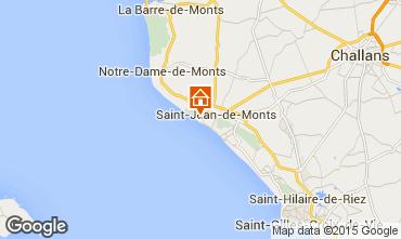 Mapa Saint Jean de Monts Casa 94798