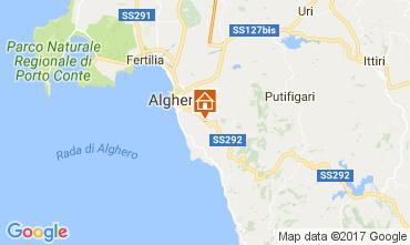 Mapa Alghero Vivenda 65699