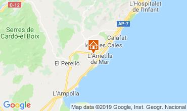 Mapa La Ametlla de Mar Vivenda 81245