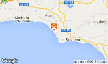 Mapa Sciacca Bungalow 32808