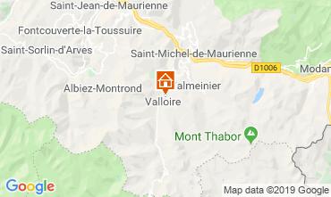 Mapa Valloire Apartamentos 84226