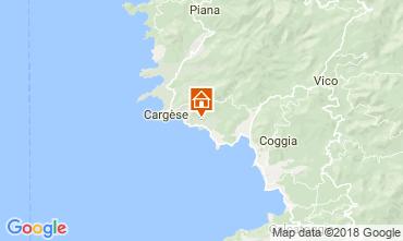 Mapa Cargèse Vivenda 115547