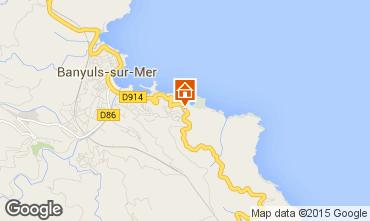 Mapa Banyuls-sur-Mer Apartamentos 94425