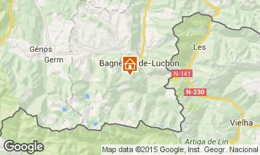 Mapa Luchon Superbagneres Apartamentos 67490
