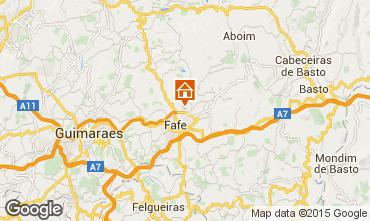 Mapa Guimarães Casa de turismo rural/Casa de campo 50906