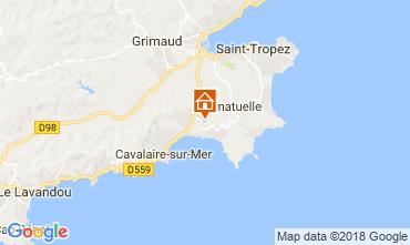 Mapa Saint Tropez Vivenda 115509